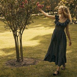 NWT DÔEN Sora Dress – Pond Promenade Plaid